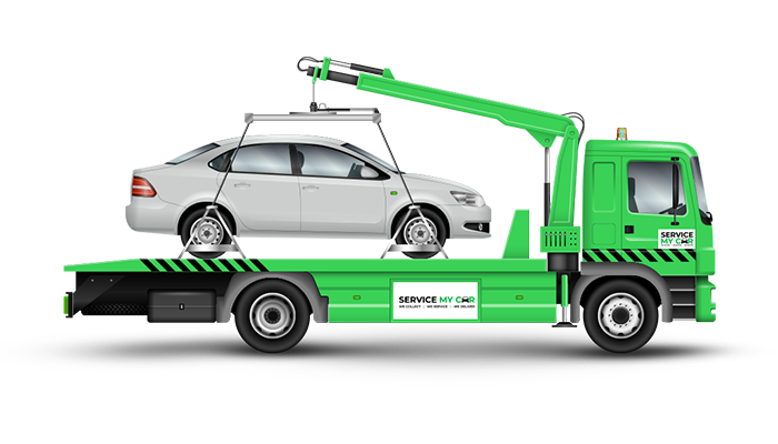 Get a Car Recovery service at servicemycar.ae